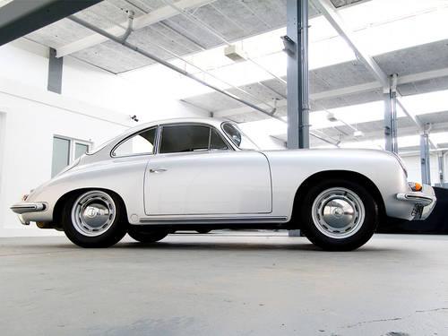 Porsche 356B 1962 in Silver  For Sale (picture 3 of 6)