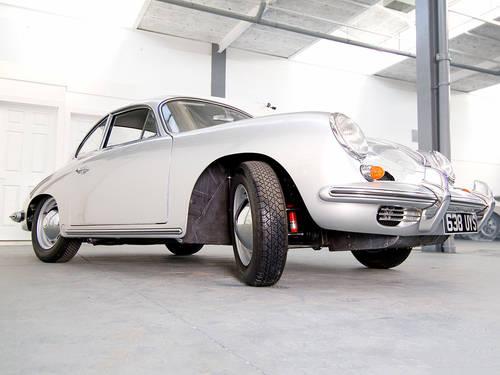 Porsche 356B 1962 in Silver  For Sale (picture 4 of 6)