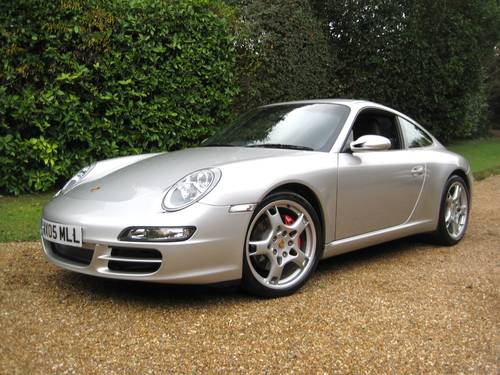 2005 Porsche 911 (997) 3.8 Carrera S 6-Speed Manual For Sale (picture 1 of 6)
