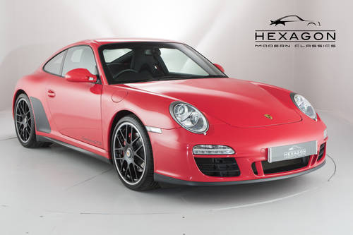 2011 PORSCHE 997 GTS COUPE SOLD (picture 1 of 6)