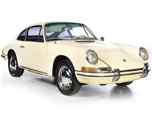 Porsche 912 1965 Champagne Yellow Coupe LHD Manual Black  For Sale (picture 1 of 6)