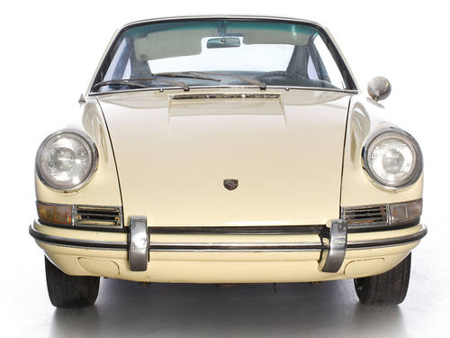 Porsche 912 1965 Champagne Yellow Coupe LHD Manual Black  For Sale (picture 2 of 6)