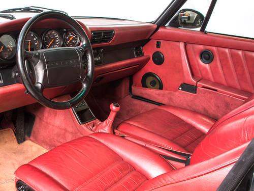 1991 Porsche 965 Turbo LHD 3.3L Black Coupe For Sale (picture 2 of 6)