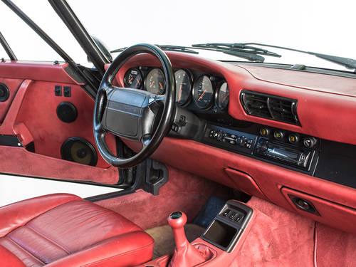 1991 Porsche 965 Turbo LHD 3.3L Black Coupe For Sale (picture 4 of 6)