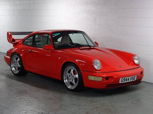 1989 Porsche 911 3.6 964 Carrera 4 AWD SUPERCHARGED RHD UK CAR For Sale (picture 1 of 6)
