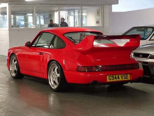 1989 Porsche 911 3.6 964 Carrera 4 AWD SUPERCHARGED RHD UK CAR For Sale (picture 2 of 6)