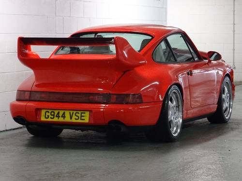 1989 Porsche 911 3.6 964 Carrera 4 AWD SUPERCHARGED RHD UK CAR For Sale (picture 3 of 6)