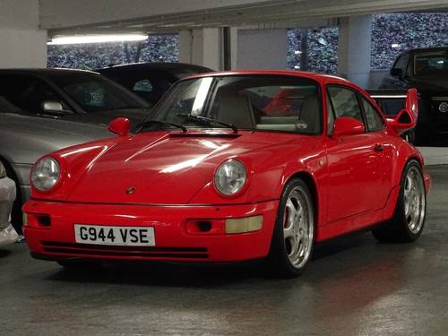 1989 Porsche 911 3.6 964 Carrera 4 AWD SUPERCHARGED RHD UK CAR For Sale (picture 4 of 6)