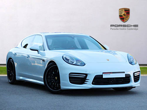 2016 UNDER 100 MILES - Porsche Panamera Turbo V8 PDK For Sale (picture 1 of 6)