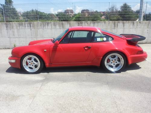 """1991 PORSCHE  964 TURBO with many  """"S"""" UPDATE  : 381 HP For Sale (picture 1 of 6)"""