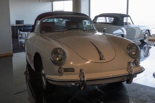 1961 Porsche 356 B Cabrio Super 90 For Sale (picture 1 of 6)