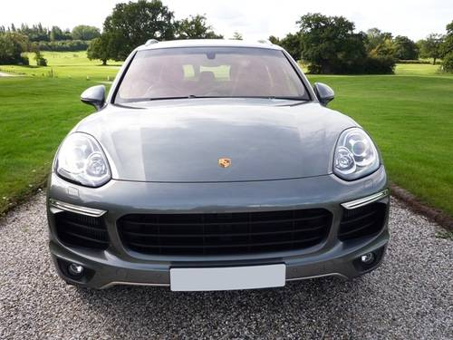 2015 Porsche Cayenne S Diesel - Gry/Blk - 1 Owner (VAT Q) For Sale (picture 2 of 6)