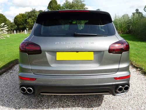 2015 Porsche Cayenne S Diesel - Gry/Blk - 1 Owner (VAT Q) For Sale (picture 4 of 6)