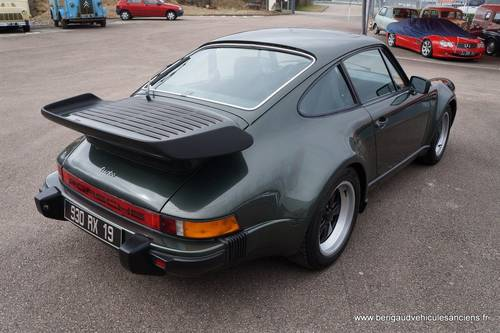 1979 Porsche 911 Turbo 3,3L 132 000 original kilometers For Sale (picture 6 of 6)