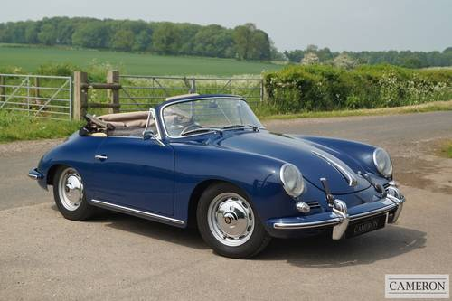 1963 Porsche 356B T6 Super Cabriolet +SOLD SIMILAR REQUIRED+ For Sale (picture 1 of 6)