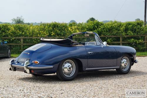 1963 Porsche 356B T6 Super Cabriolet +SOLD SIMILAR REQUIRED+ For Sale (picture 2 of 6)
