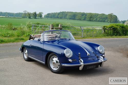 1963 Porsche 356B T6 Super Cabriolet +SOLD SIMILAR REQUIRED+ For Sale (picture 3 of 6)