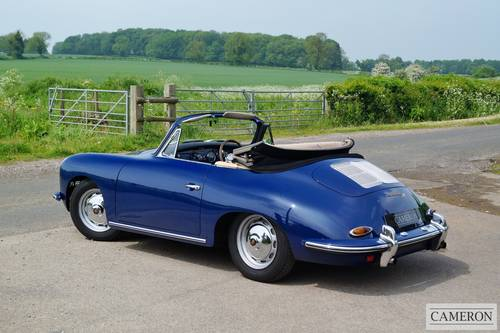 1963 Porsche 356B T6 Super Cabriolet +SOLD SIMILAR REQUIRED+ For Sale (picture 4 of 6)