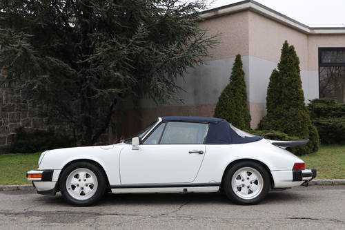 1987 Porsche 911 ​​Carrera cabriolet For Sale (picture 3 of 5)