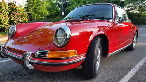 1969 911E Targa : Exceptional Dry, CA 911E only 69,934 miles For Sale (picture 1 of 6)