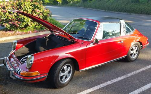 1969 911E Targa : Exceptional Dry, CA 911E only 69,934 miles For Sale (picture 2 of 6)