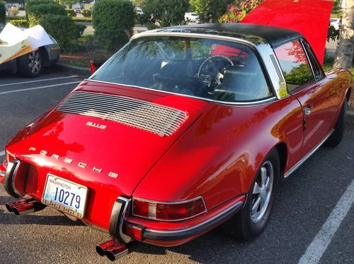 1969 911E Targa : Exceptional Dry, CA 911E only 69,934 miles For Sale (picture 3 of 6)