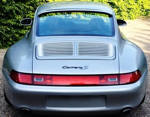 1997 PORSCHE 993 C2S FACTORY WIDE BODY TIPTRONIC 66K MILES LHD. For Sale (picture 1 of 6)