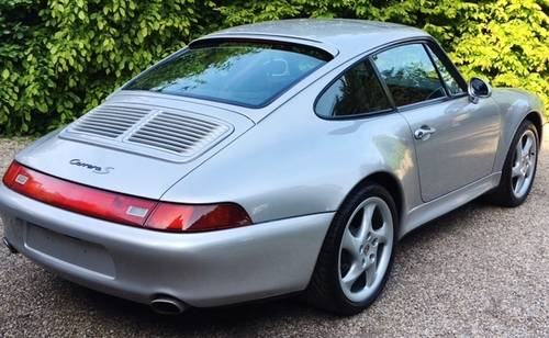 1997 PORSCHE 993 C2S FACTORY WIDE BODY TIPTRONIC 66K MILES LHD. For Sale (picture 5 of 6)