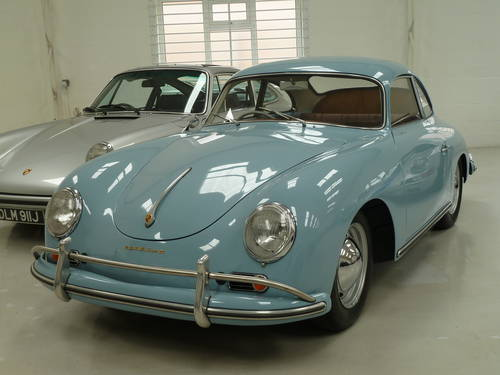 1957 Porsche 356 A T1 Coupe - Rare RHD & Matching Numbers SOLD (picture 1 of 6)