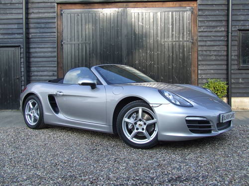 2012 981 Boxster 2 7 With PCM + Leather SOLD | Car And Classic