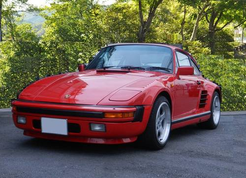 1989 Porsche 911  930 Turbo factory flat nose For Sale (picture 1 of 6)