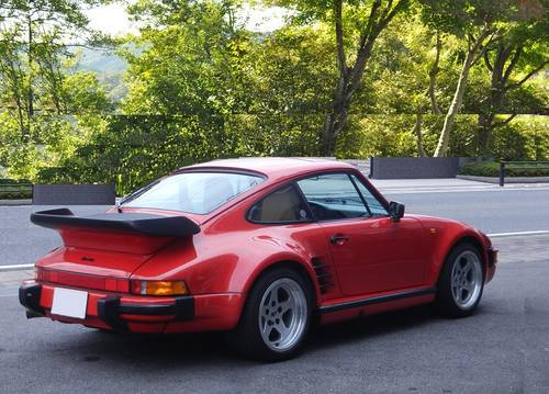 1989 Porsche 911  930 Turbo factory flat nose For Sale (picture 2 of 6)