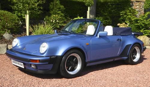1986 Porsche 911 Cabriolet Turbo-Supersport body Superb SOLD (picture 1 of 6)