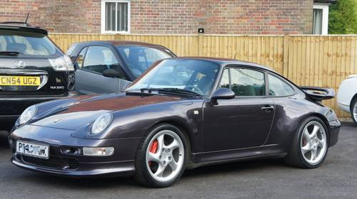 1997 PORSCHE 993 3 6 CARRERA 2 S TURBO II AERO WIDE BODY +