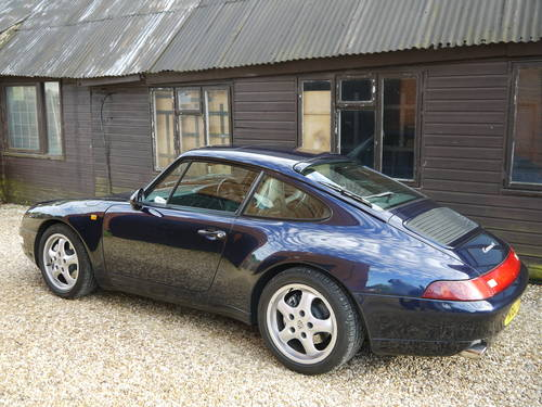 1996 PORSCHE 993 C4 VARIORAM - EXCELLENT CAR IN MIDNIGHT BLUE !! SOLD (picture 3 of 6)