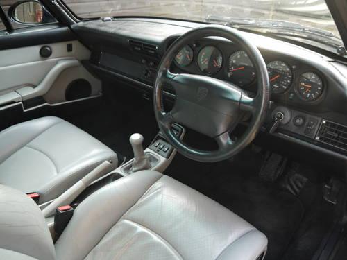 1996 PORSCHE 993 C4 VARIORAM - EXCELLENT CAR IN MIDNIGHT BLUE !! SOLD (picture 4 of 6)
