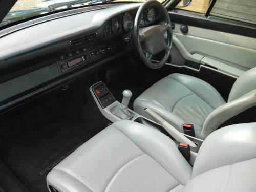 1996 PORSCHE 993 C4 VARIORAM - EXCELLENT CAR IN MIDNIGHT BLUE !! SOLD (picture 5 of 6)