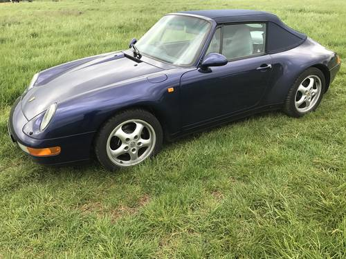 1996 Porsche 911 Carrera for sale by auction june 17th SOLD by Auction (picture 1 of 6)