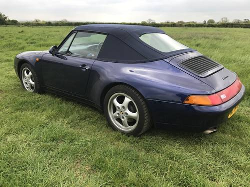 1996 Porsche 911 Carrera for sale by auction june 17th SOLD by Auction (picture 3 of 6)