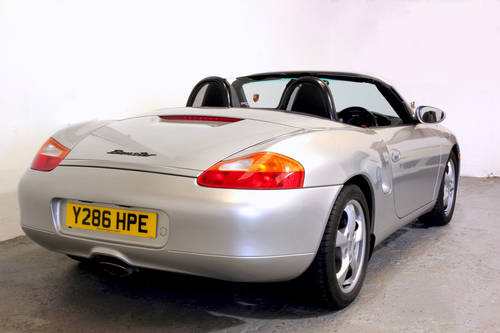 2001 Porsche Boxster 2.7 Tiptronic, very low mileage SOLD (picture 3 of 6)