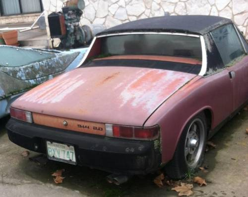 1976 Porsche 914 2.0. Barn Find, Dry Climate car for Restoration For Sale (picture 3 of 3)