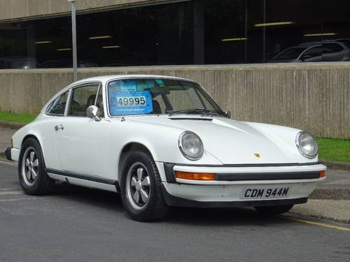 1974 Porsche 911 2.7 CARRERA CLASSIC ** LHD ** LOW MILEAGE ** For Sale (picture 1 of 6)