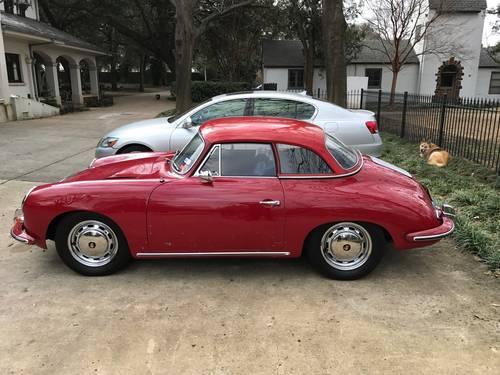 1964 Porsche 356SC Cabriolet #21682 For Sale (picture 1 of 6)
