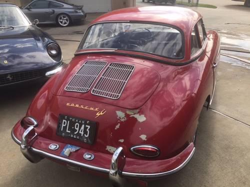 1964 Porsche 356SC Cabriolet #21682 For Sale (picture 2 of 6)