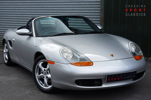 2001 Porsche Boxster 2.7 manual, 24,000 miles, full OPC history. SOLD (picture 1 of 6)