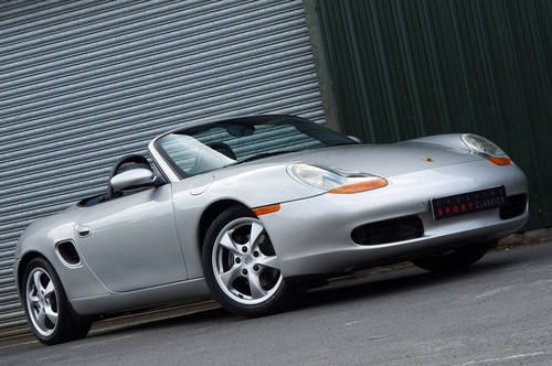 2001 Porsche Boxster 2.7 manual, 24,000 miles, full OPC history. SOLD (picture 2 of 6)