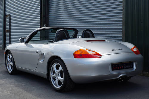 2001 Porsche Boxster 2.7 manual, 24,000 miles, full OPC history. SOLD (picture 3 of 6)