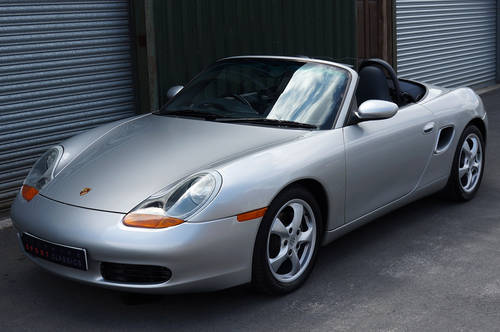 2001 Porsche Boxster 2.7 manual, 24,000 miles, full OPC history. SOLD (picture 4 of 6)