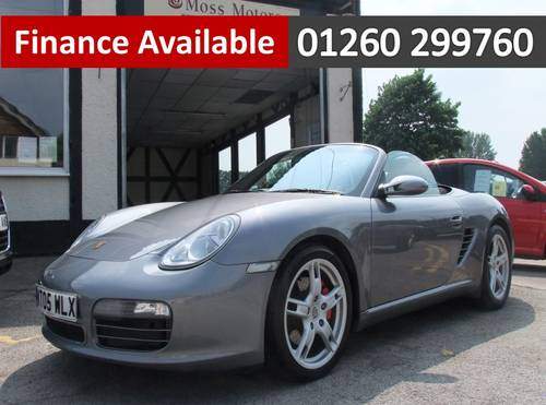 2005 PORSCHE BOXSTER 3.2 24V S 2DR Manual SOLD (picture 1 of 6)