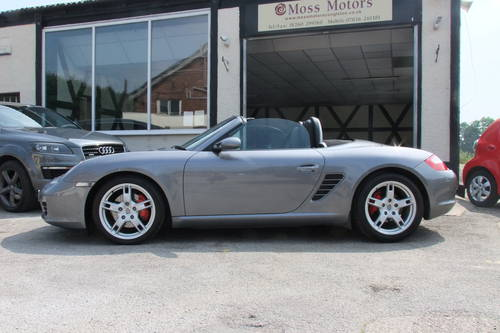 2005 PORSCHE BOXSTER 3.2 24V S 2DR Manual SOLD (picture 2 of 6)